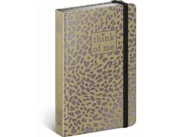 Týdenní diář Craft Puma - Think of me 2021 - západoevropský, 11x16 cm