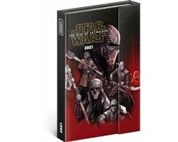 Týdenní diář Star Wars 2021 magnetický, 11x16 cm