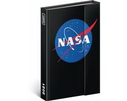 Týdenní diář NASA 2021 - východoevropský magnetický, 11x16 cm
