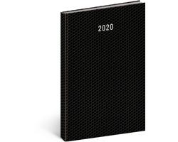 Denní diář Magnus 2020, A4 - černá