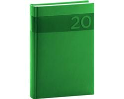 Denní diář Aprint 2020, A5 - zelená