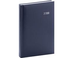 Denní diář Balacron 2022, A5 - tmavě modrá