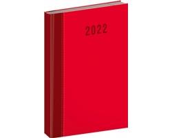 Denní diář Cambio Classic 2022, A5 - červená