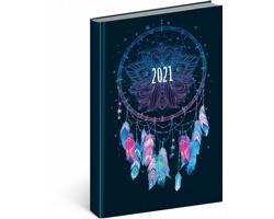 Denní diář Cambio Fun 2021, A5 - lapač snů