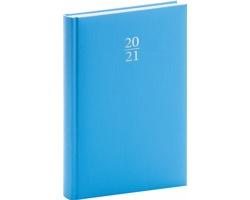 Denní diář Capys 2021, A5 - světle modrá