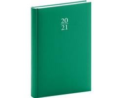 Denní diář Capys 2021, A5 - zelená