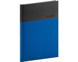 Denní diář Dado 2020, A5 - modrá / černá