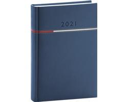 Denní diář Tomy 2021, A5 - modrá / červená