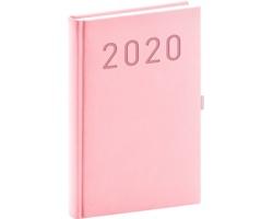 Denní diář Vivella Fun 2020, A5 - růžová