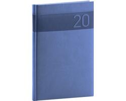 Týdenní diář Aprint 2020, 15x21cm - modrá