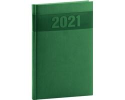 Týdenní diář Aprint 2021, A5 - zelená