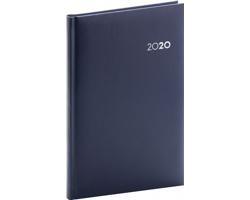 Týdenní diář Balacron 2020, 15x21cm - tmavě modrá