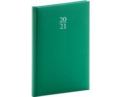 Týdenní diář Capys 2021, A5 - zelená