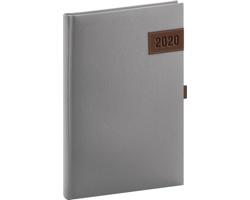 Týdenní diář Tarbes 2020, 15x21cm - stříbrná