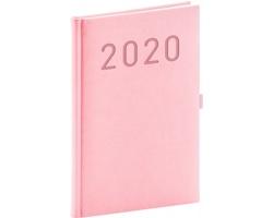 Týdenní diář Vivella Fun 2020, 15x21cm - růžová