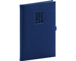 Týdenní diář Vivella Classic 2020, 15x21cm - modrá