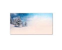 Novoroční PF karta GL2152 - bílá / modrá