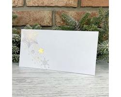 Novoroční PF karta GL2234 - bílá / zlatá