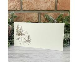 Novoroční PF karta GL2236 - krémová