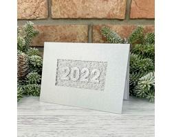 Otevírací novoročenka GL2238 - stříbrná