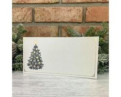 Novoroční PF karta GL2247 - perleťová / zlatá