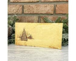 Novoroční PF karta GL2248 - krémová / zlatá