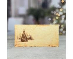 Novoroční PF karta GL248 - krémová / zlatá