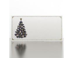 Novoroční PF karta GL933 - bílá / zlatá