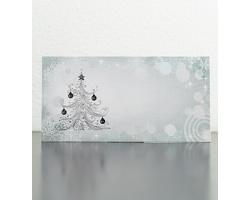 Novoroční PF karta GL949 - stříbrná