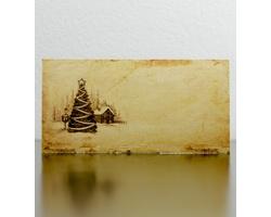 Novoroční PF karta GL950 - zlatá