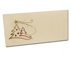 Novoroční PF karta PF830 - zlatá / červená