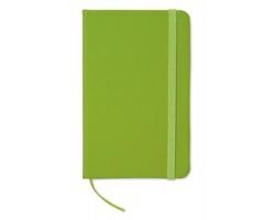 Zápisník DOLUS, formát A6 - limetková