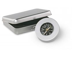 Kovový námořní kompas ARROW - matně stříbrná