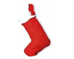 Vánoční ponožka QUINN - červená