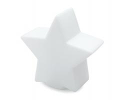 Světlo měnící barvy GENNA ve tvaru hvězdy - bílá