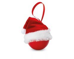 Vánoční ozdoba WISHY s čepicí - červená