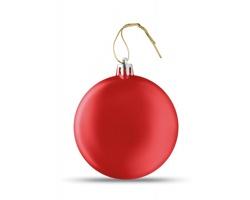 Vánoční ozdoba TRAGI s metalickým vzhledem - červená