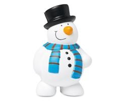 Antistresový sněhulák DIETS - bílá