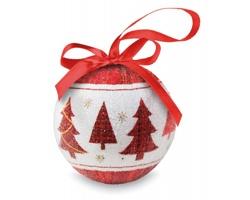 Vánoční ozdoba koule UNYOKE v dárkové krabičce - vícebarevná