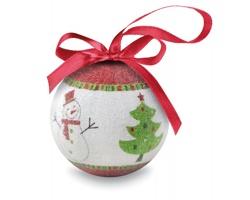 Vánoční ozdoba koule MIZZEN v dárkové krabičce - vícebarevné