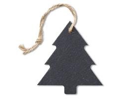 Břidlicový přívěsek strom BRACT s poutkem - černá