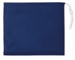 Skládací pláštěnka HEMP v pouzdře - modrá