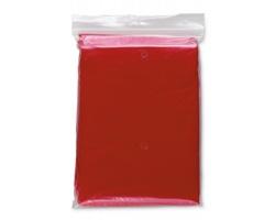 Skládací pláštěnka MARIANA s kapucí - červená