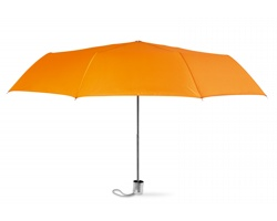 Malý deštník RETA v pouzdru - oranžová