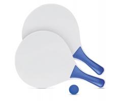 Set pro plážový tenis PAWKY - modrá