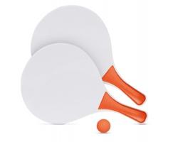 Set pro plážový tenis PAWKY - oranžová