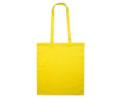Bavlněná nákupní taška SHON - žlutá