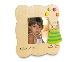 Dřevěný rámeček LEAKS na fotografie - zelená