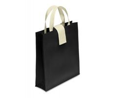 Skládací nákupní taška BEEFS - černá