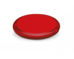 Plastové dvojité zrcátko BOGGY - transparentní červená